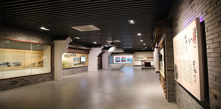 修水县博物馆三维展厅和三维文物展示